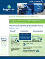 Reduce Your Waste Volume and Save
